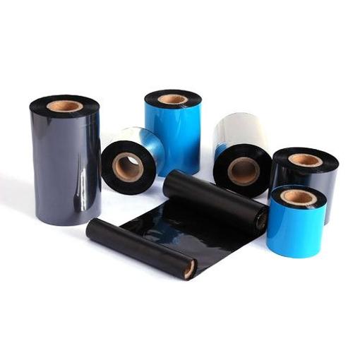 Μελανοταινίες (Ribbons) Μαύρες Για Χάρτινες Ετικέτες 110mmX74m WAX