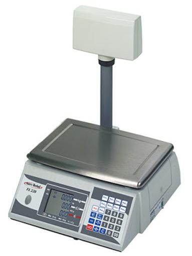 Ζυγός με υπολογισμό τιμής FX200 με ιστό