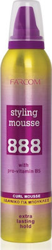 FARCOM STYLING 888 MOUSSE 250ml - (CURLY)
