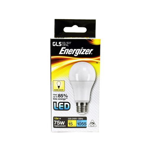 ENERGIZER ΛΑΜΠΑ GLS (LED) Ε27 12w (ΘΕΡΜΟ)