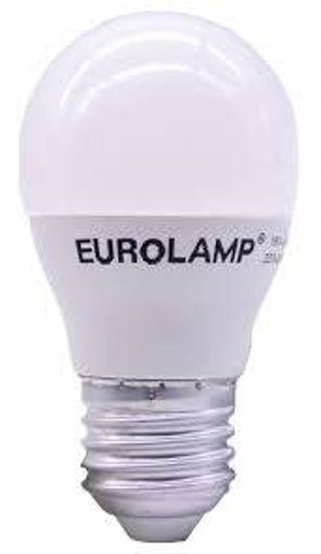 EUROLAMP ΛΑΜΠΑ SMD (LED) ΣΦΑΙΡΙΚΗ E27 8w 2700k