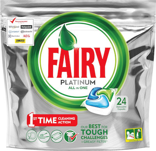 FAIRY CAPS ALL IN ONE PLATINUM 24τεμ.