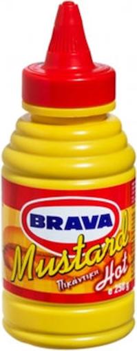 BRAVA ΜΟΥΣΤΑΡΔΙΕΡΑ ΠΙΚΑΝΤΙΚΗ 250gr.