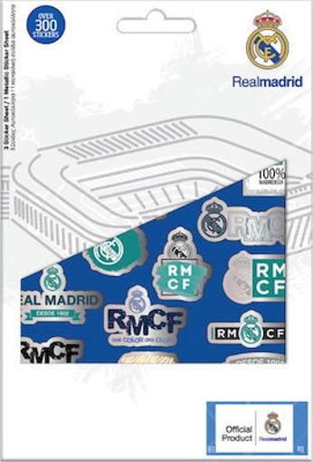 ΜΠΛΟΚ ΜΕ ΑΥΤΟΚΟΛΛΗΤΑ -  (REAL MADRID FC)