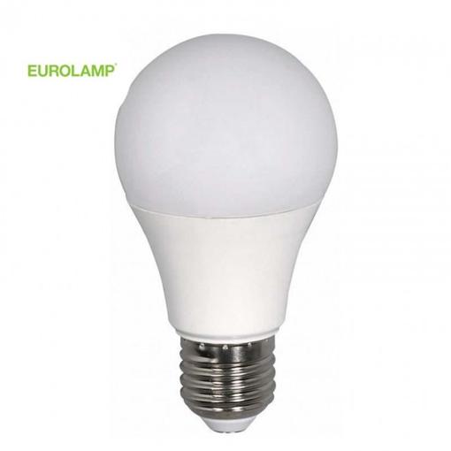 EUROLAMP ΛΑΜΠΑ (LED) KOINH E27 9w 6500k 220-240v