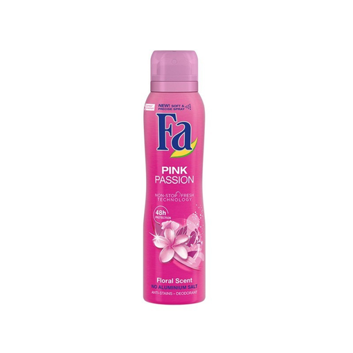 FA DEO SPRAY 150ml - (PINK PASSION)