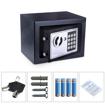 POWERTECH Χρηματοκιβώτιο ασφαλείας SB-17E, 3-8 ψηφίων, 17x23x17cm