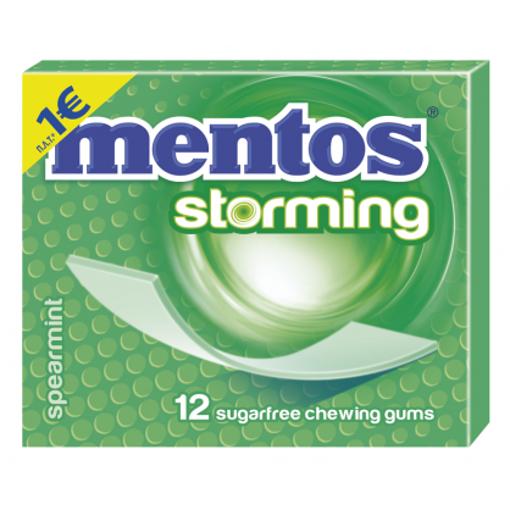 MENTOS STORMING 33gr. - (SPEARMINT)