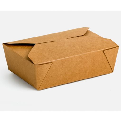 KRAFT DELIVERY BOX No 3 - (50τεμ.) - (21x15x6.5cm)