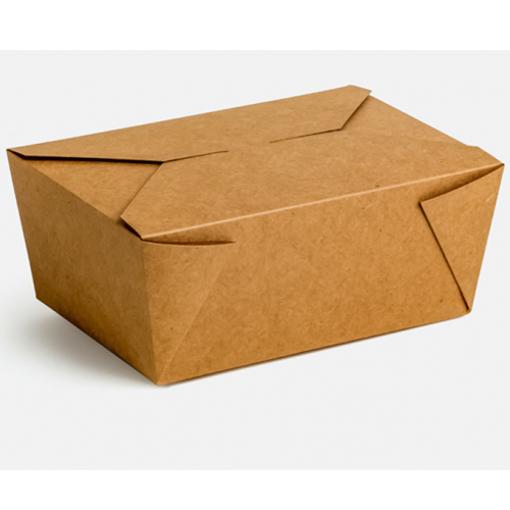 KRAFT DELIVERY BOX No 5 - (75τεμ.) - (18,5x9x5,5cm)(#6a)