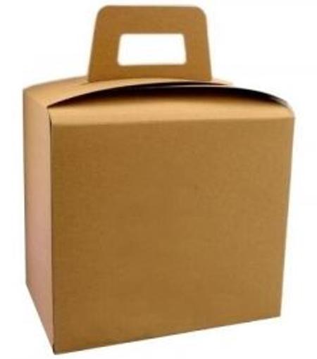 ΚΟΥΤΙ ΓΙΑ ΓΕΥΜΑ ΒΑΛΙΤΣΑΚΙ KRAFT 10kg - (18x12x17cm)(~107τεμ.)