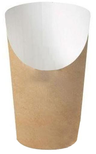 ΧΑΡΤΙΝΗ ΣΥΣΚΕΥΑΣΙΑ ΠΑΤΑΤΑΣ 50τεμ. - (84,8x144x65,9mm) - (607-81)