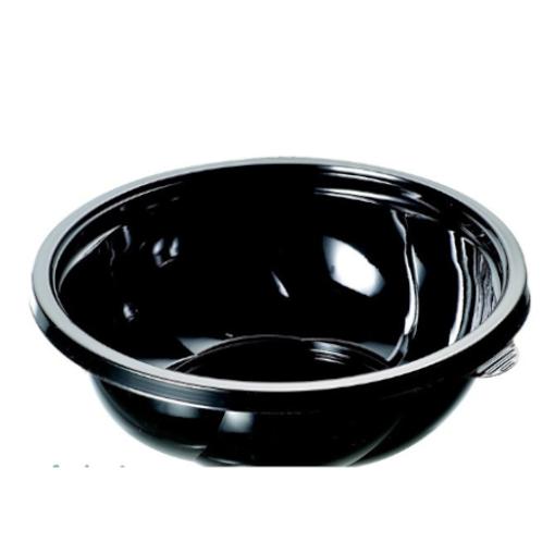 ΜΠΩΛ ΣΑΛΑΤΑΣ PET ΜΑΥΡΟ 850 ml - (50τεμ.) (SB-850) - (PREPAC)