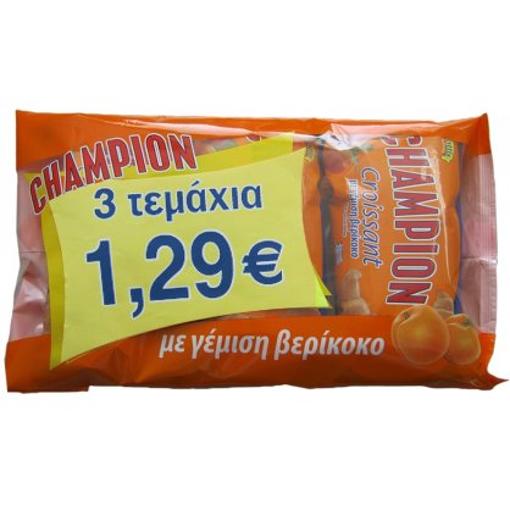 CHAMPION ΚΡΟΥΑΣΑΝ ΒΕΡΙΚΟΚΟ 3x70gr