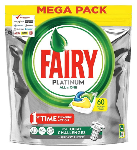 FAIRY CAPS ALL IN ONE PLATINUM 60τεμ.