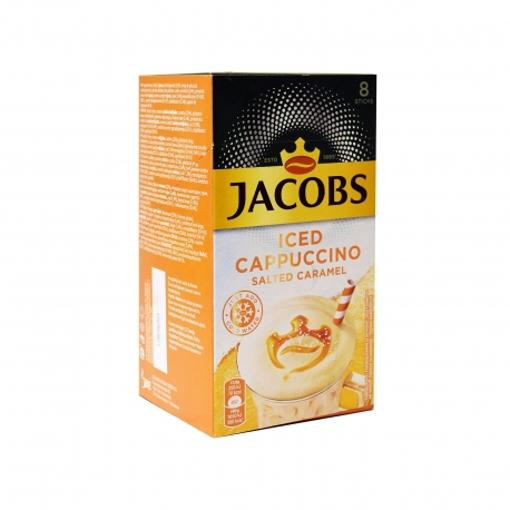 JACOBS ICE CAPPUCCINO SALT CARAMEL STICKS 8gr. - (10τεμ.)