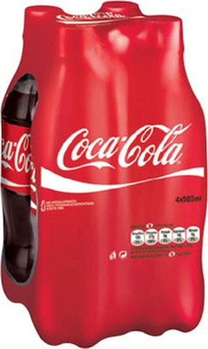 COCA COLA 500ml (4 PACK)